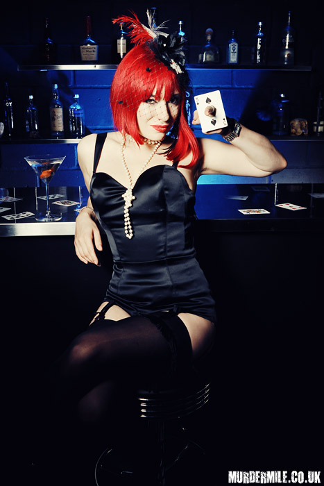 Magician Laura London by Murder Mile Photography