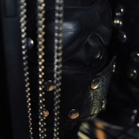 Leather hood